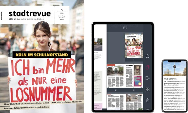 das aktuelle Stadtrevue-Cover